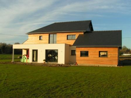 Accueil for Entreprise construction maison bois